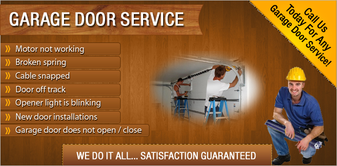 Garage Door Opener Repair & Installations